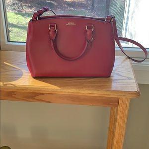 Lauren by Ralph Lauren Red Bag